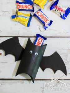 Caja murciélago creada por Jessi Wohlwend