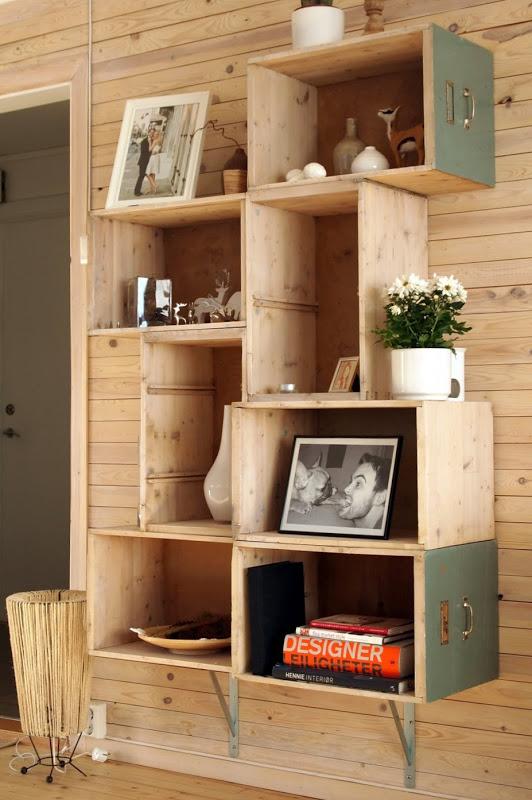 Estanter a con cajones muebles - Cajones para estanterias ...